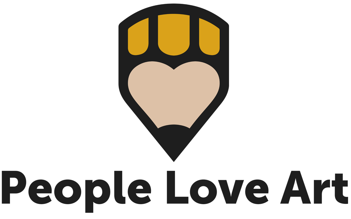 People Love Art logo